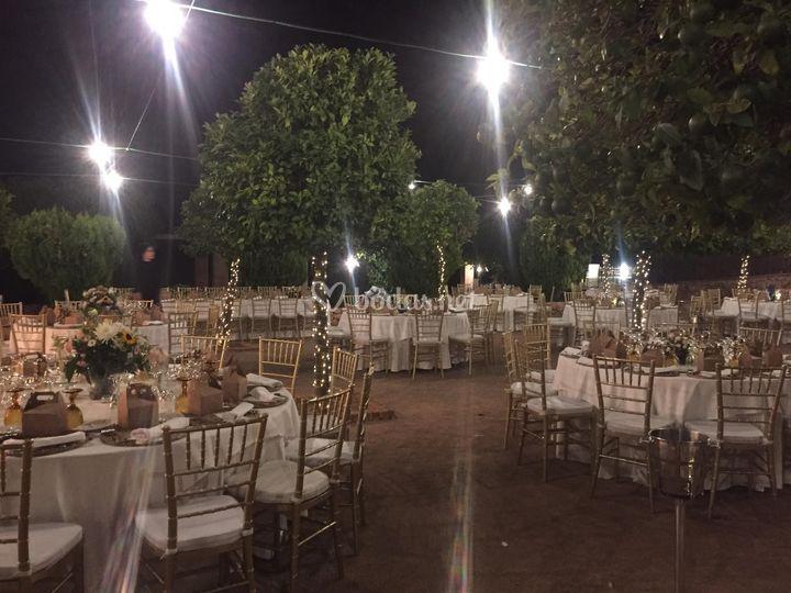 Banquete Exterior Los Naranjos