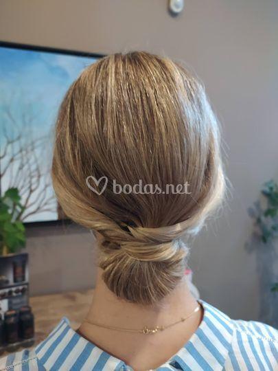 Peinado de invitada
