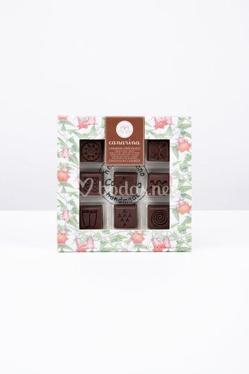 Caja regalo línea 9 sabores