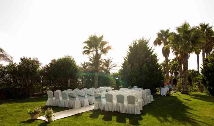 Jardín boda