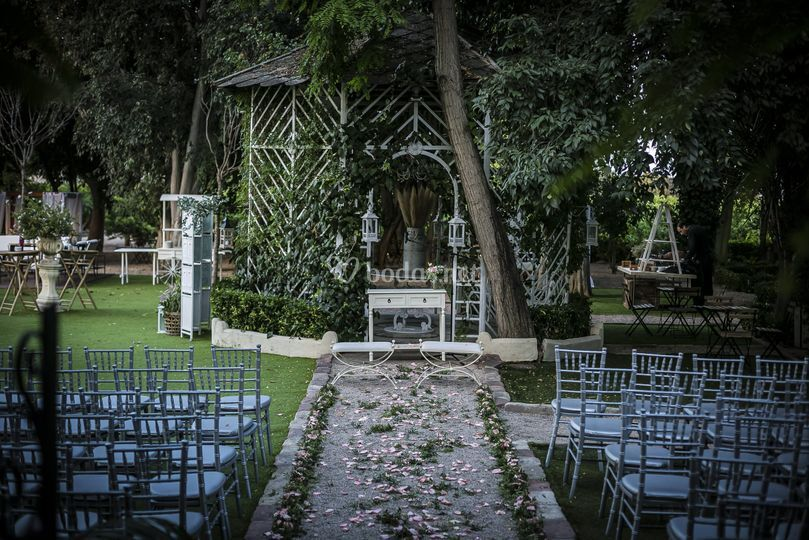 Ceremonia Civil - Pérgola