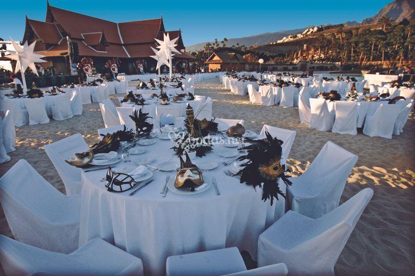 Instalaciones para bodas