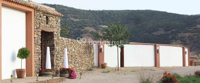 Entrada a El Carrizal