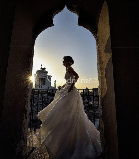 La novia en roma