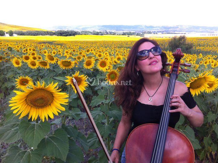 Profesora de violonchelo