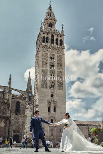 Giralda Sevilla Fotoymagen