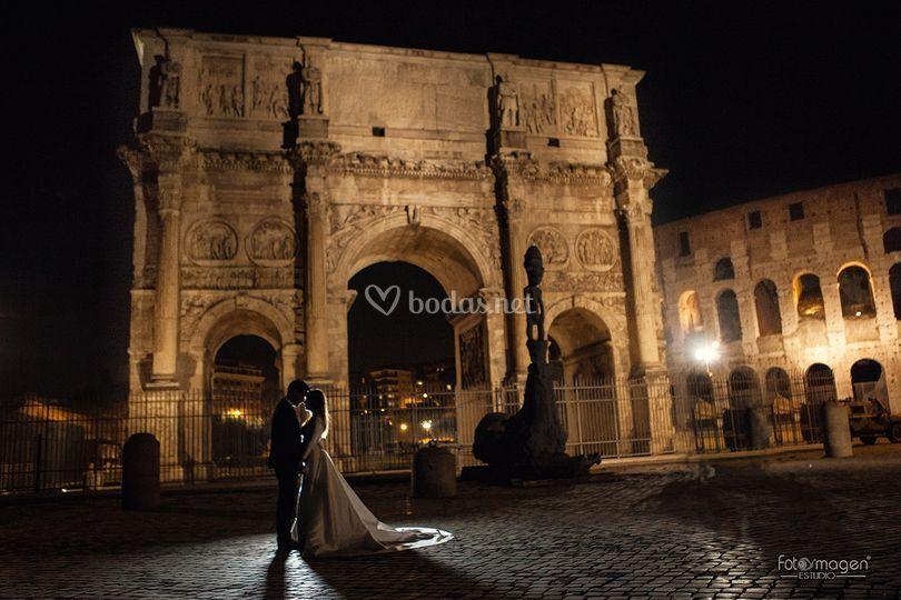 Coliseo Roma Fotoymagen