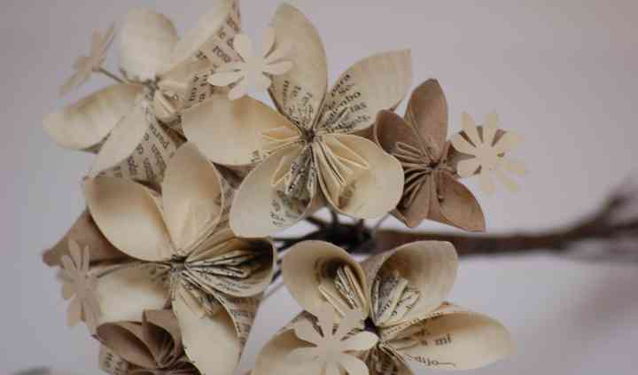 Ramo de origami libro