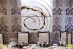 Decoración floral en las mesas