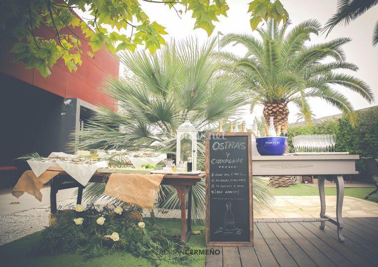 Estación de ostras