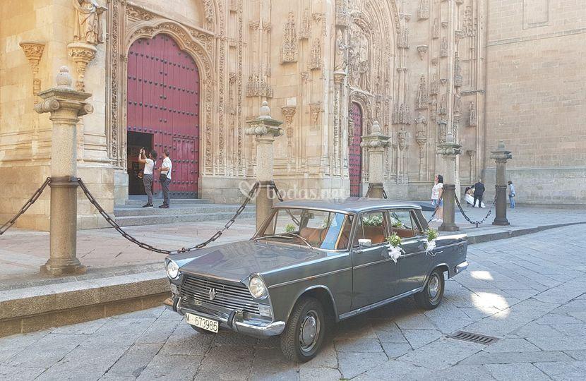 Milquieven, coche de boda