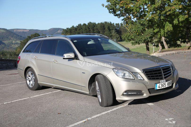 Mercedes clase E 4 plazas