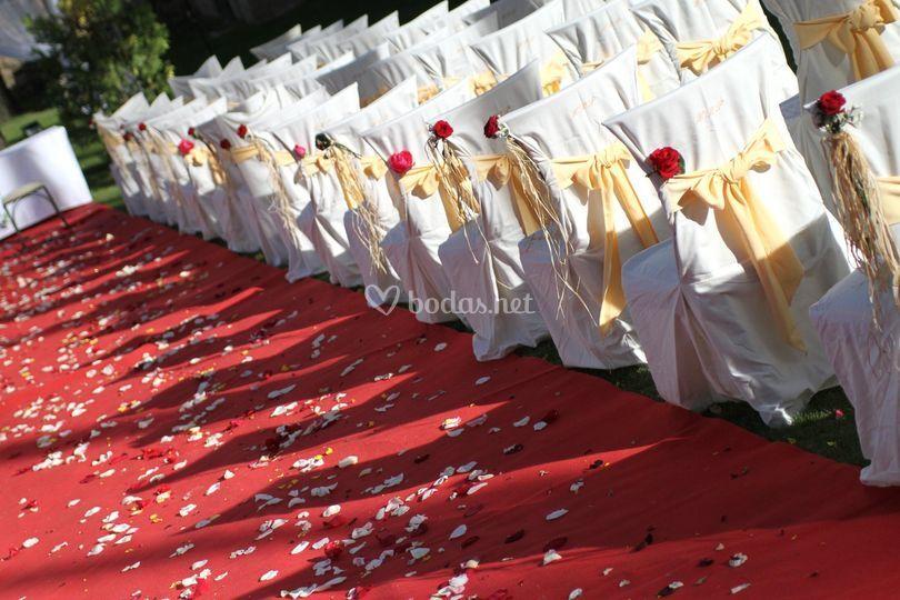 Montaje de ceremonia