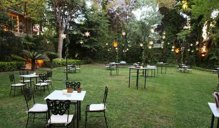 Jardín Villa Victorina