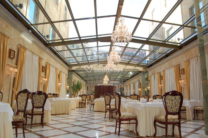 Sal n de boda de hotel alameda palace foto 15 - Hotel salamanca 5 estrellas ...
