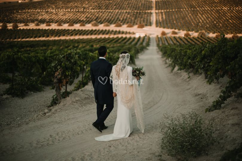Exteriores de la boda