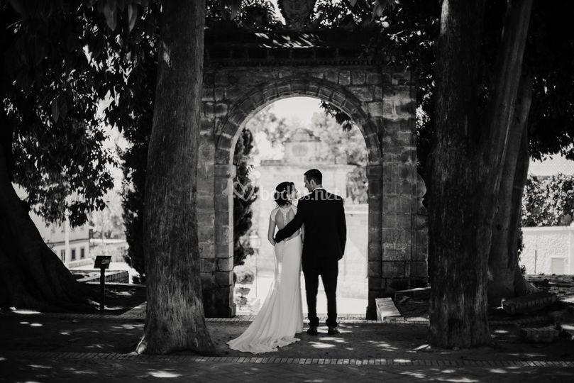 Exteriores del día de la boda