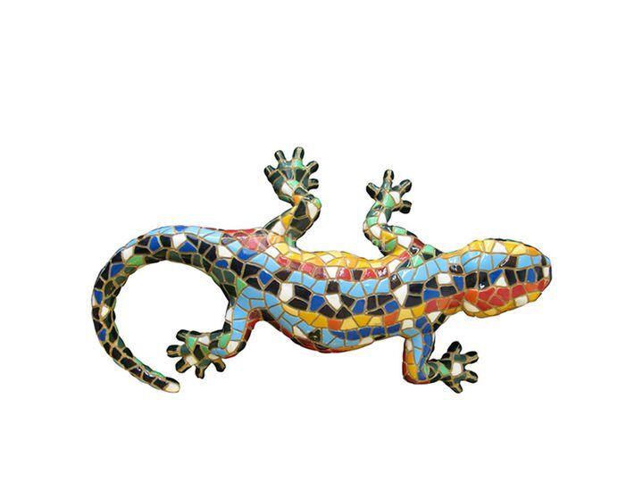 Salamandra de resina
