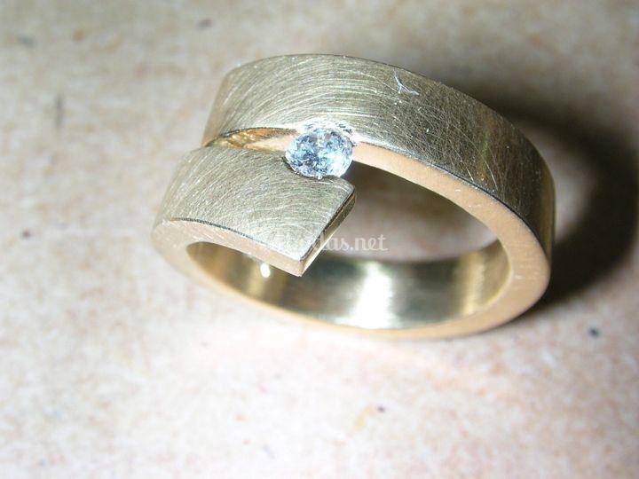 Oro y diamante