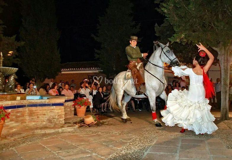 Velada flamenca en Córdoba