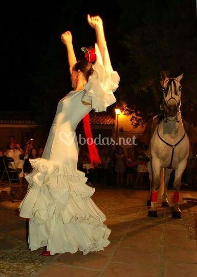 Sevillanas en una boda
