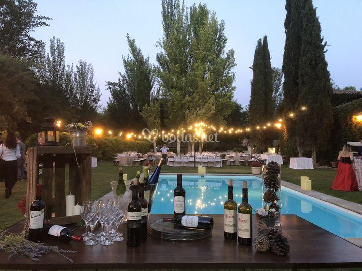 Corner de vino