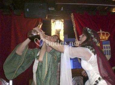 Novios medievales