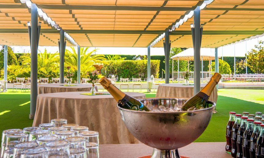 Mesa champán