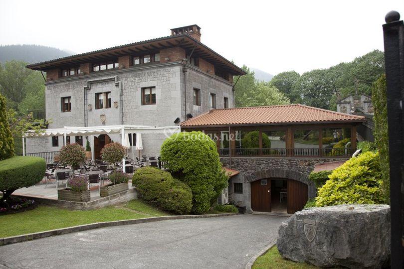 Palacio Anuncibai de Restaurante Palacio de Anuncibai