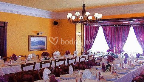 Salón para reuniones pequeñas