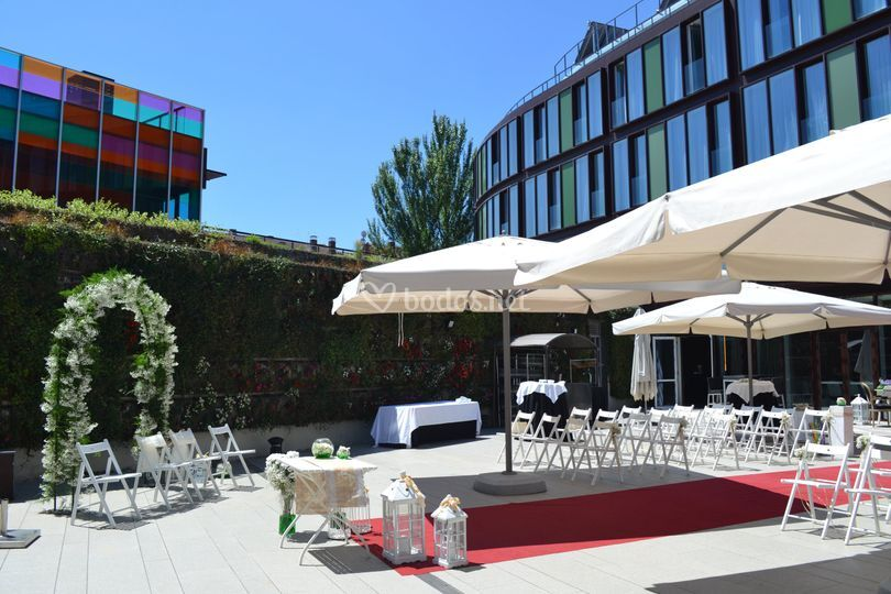 Ceremonia jard n vertical de jardines de uleta foto 3 for Jardines de uleta