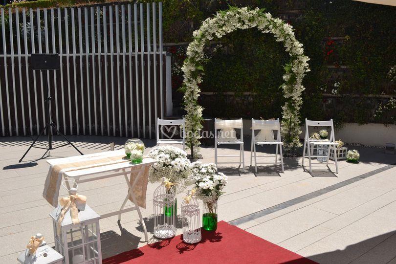 Ceremonia Jardín Vertical