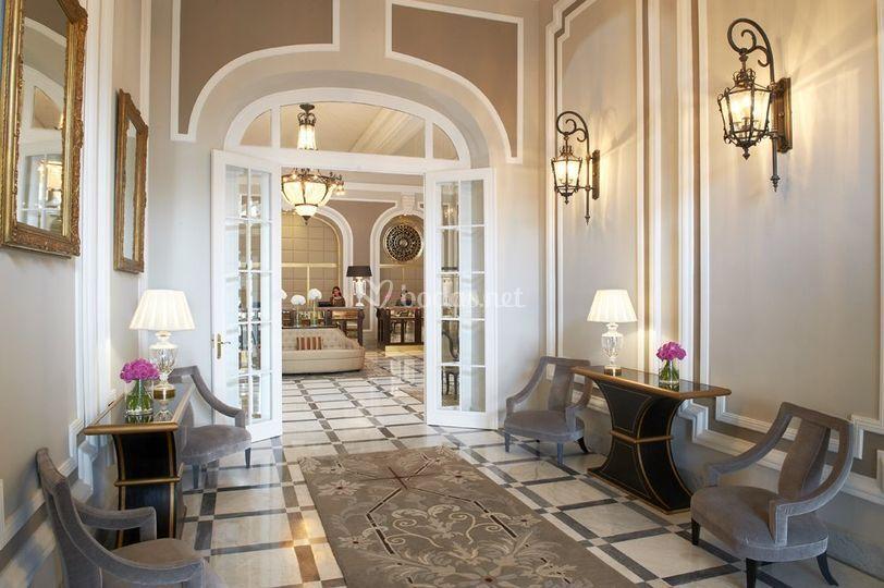 Lobby Hotel Maria Cristina