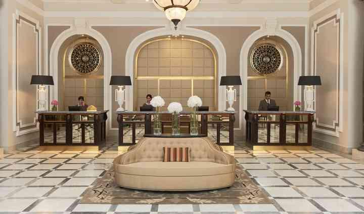 Recepción Hotel Maria Cristina