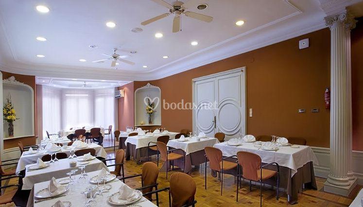 Interior del restorán
