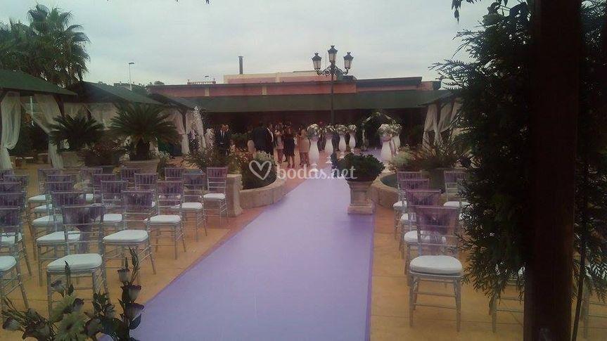 Ceremonia Civil Terraza