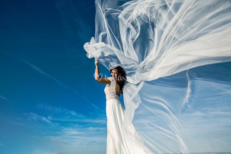 La novia y su velo
