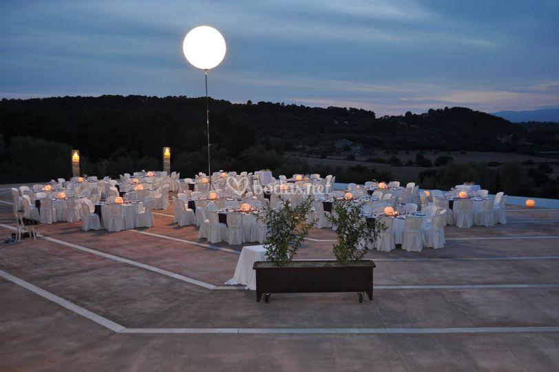 Banquete de noche