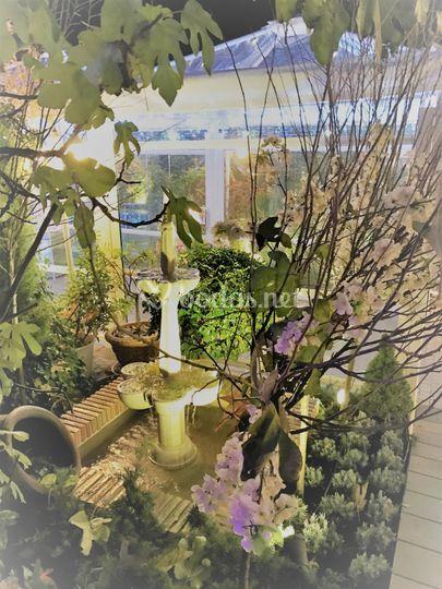 El palacete de la ochava for Jardin de invierno loi suites