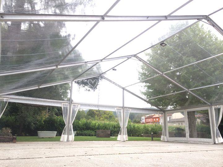 Transparente 15x15 m
