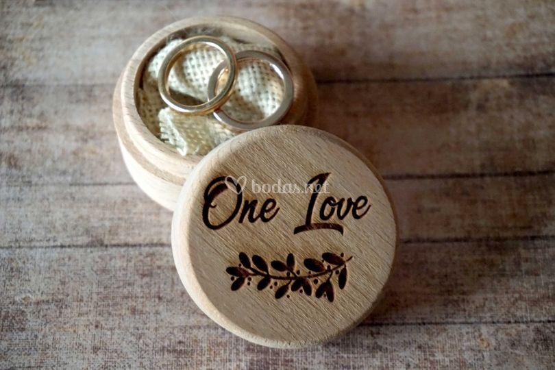 Caja para anillos
