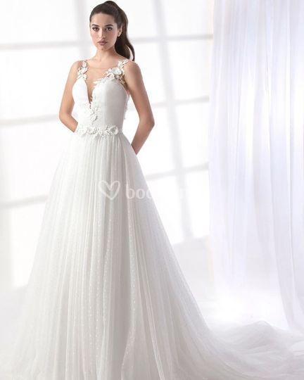 Vestido romántico