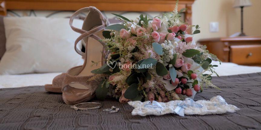 Detalles de la novia