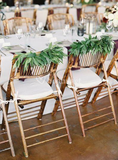 Sillas Bambú