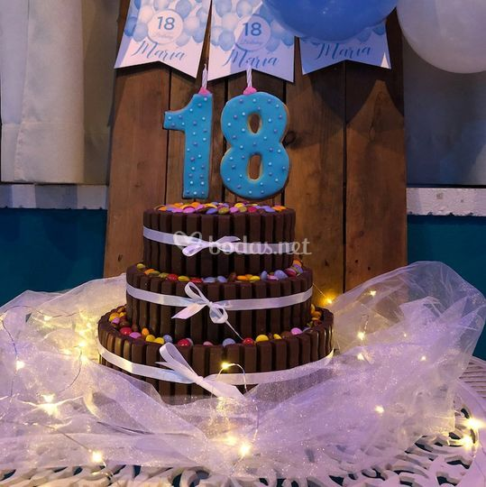 Pastel de 18 cumpleaños