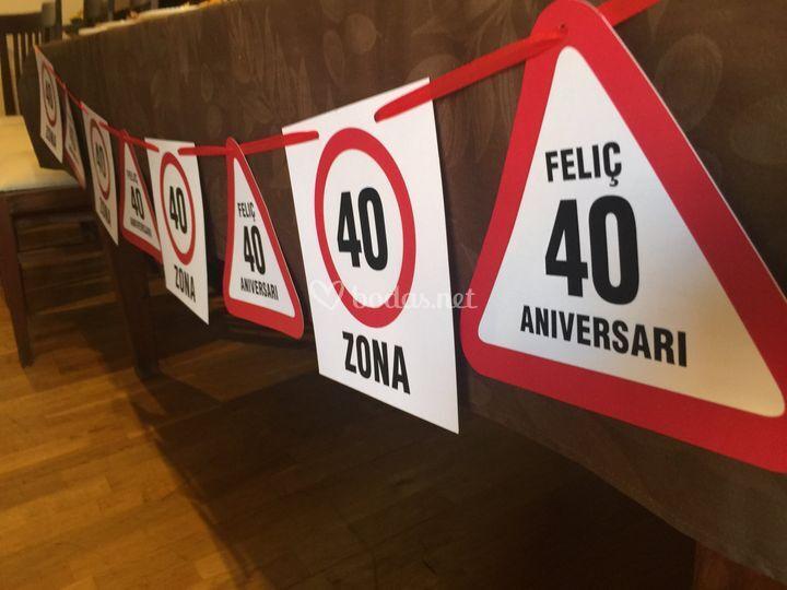 Zona 40!