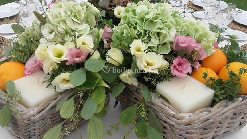 Detalle floral boda