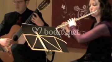 Dúo guitarra y flauta