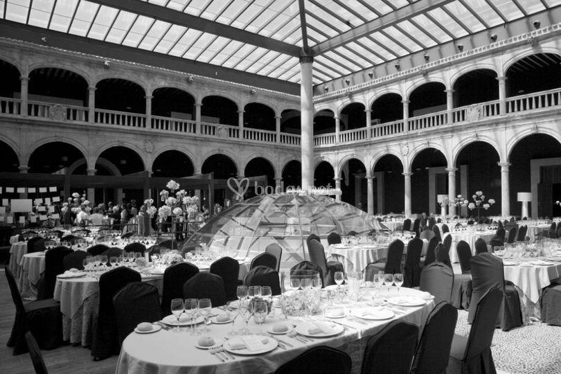 Mesas banquete Patio