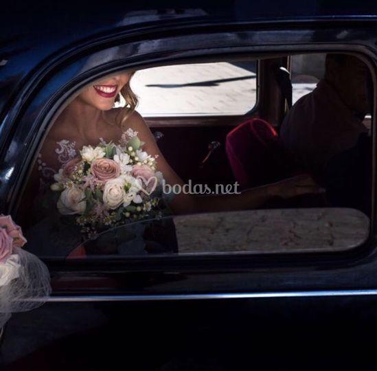 Salida de la novia